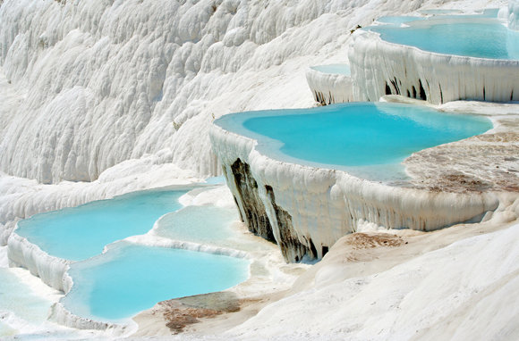 Pamukkale Turkey's thermal spa