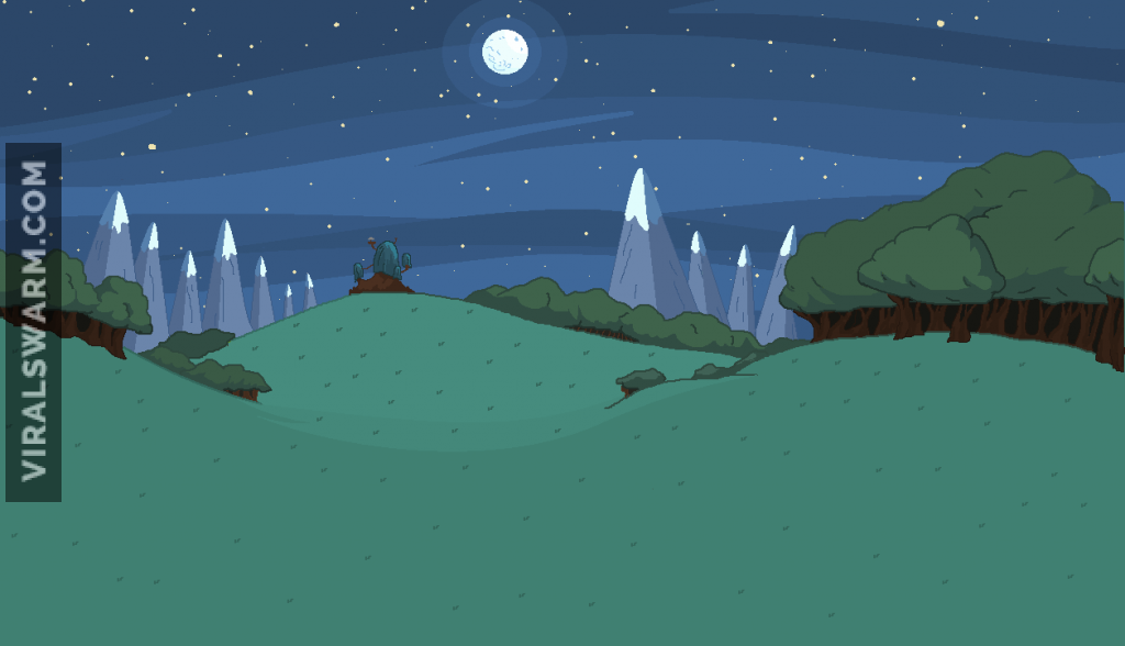 The Grasslands at Night