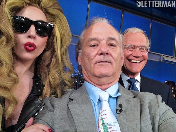 gaga-murray-letterman-selfie