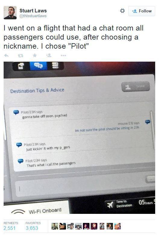 Nicknames for chat rooms