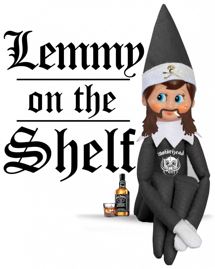 Lemmy on the Shelf. Just in time for Christmas. | ViralSwarm.com