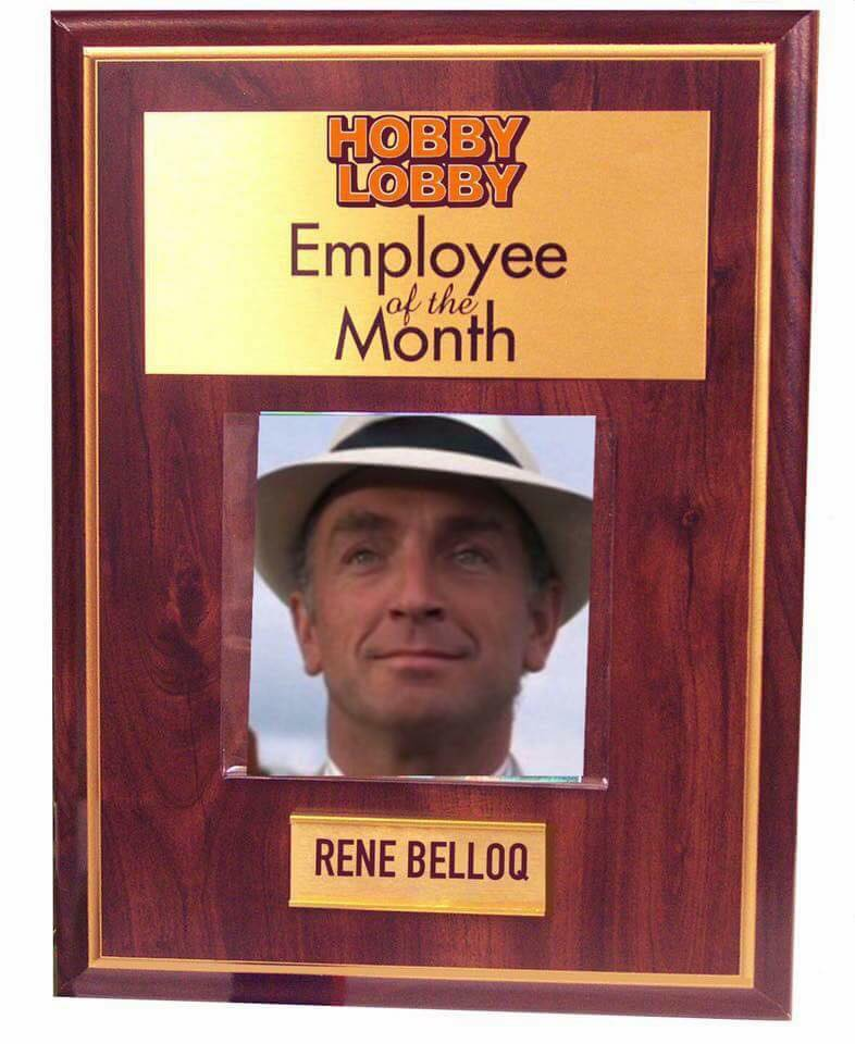 Hobby Lobby employee of the month | ViralSwarm.com