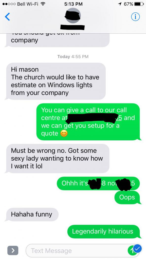 Sexy hotline number